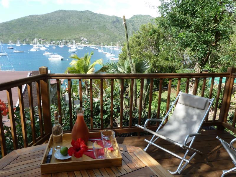 Bungalow Bois Martinique : Bungalow bois vue magnifique sur Grande Anse – Location de vacances
