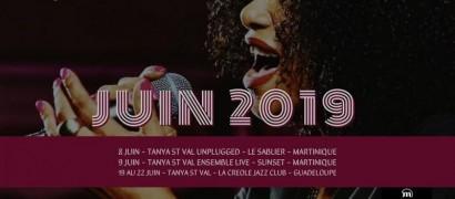Tournée de Tanya Saint-Val en Martinique et en Guadeloupe