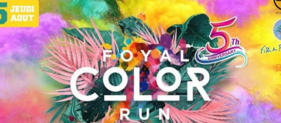 Foyal color run 2019 : le 15 août