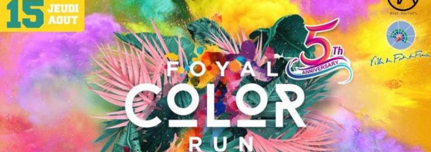 Foyal color run 2019 : le 15 août