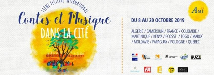 Contes et Musique dans la Cité 2019 en octobre