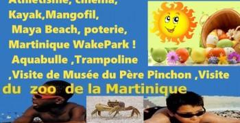 Neuf jours vacances de Pâques avec La Cigogne Martinique