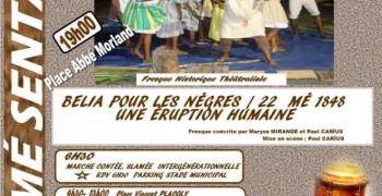 Commémoration de l'abolition de l'esclavage 2019 à Sainte-Anne
