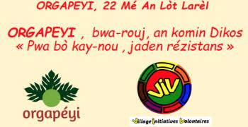 Orgapeyi , 22 mé an lot larèl
