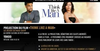 Cinema an Lè Mon : think like a man