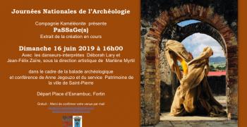 Journées nationales de l'archéologie  2019 :balade archéologique