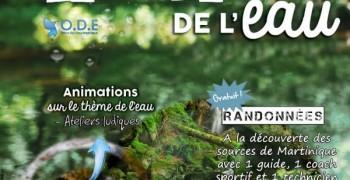 Semaine de l'eau 2019 à Ajoupa-Bouillon