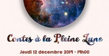 Soirée Contes la Pleine Lune Déc 2019