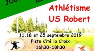 US ROBERT athlétisme- PORTES OUVERTES