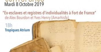 Ex-esclaves et registres d'individualités à Fort-de-France