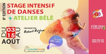 Stage Intensif de DanseS + Atelier Bèlè 8e édition