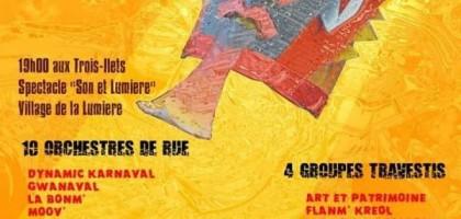 Carnaval 2019 en Martinique : Limen limyè-a