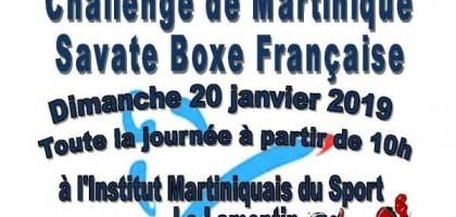 Challenge de Ligue de Martinique Savate Boxe Française