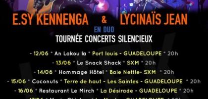 E.Sy Kennenga et Lycinaïs en duo en tournée