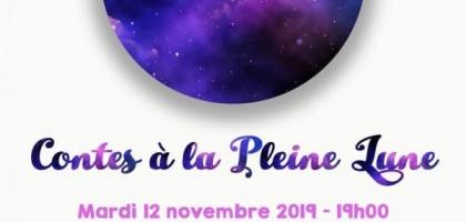Soirée Contes à La Pleine Lune Nov 2019