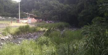 Bain de rivière à Grand Rivière