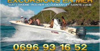 Transport en bateau Martinique / Sainte Lucie