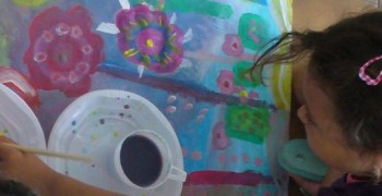 L'atelier d'arts plastiques  « ...Du Cœur, Jusqu'aux Pinceaux…»