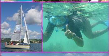 Zouk : Journée voile dans la baie du Robert