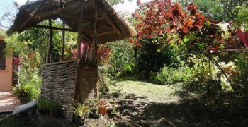 Jardin créole au Marin