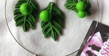 Bijoux en pâte polymère A lil'shine accessories