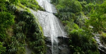 La cascade de l'Anse Couleuvre