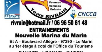Savate boxe Française à la nouvelle marina du Marin