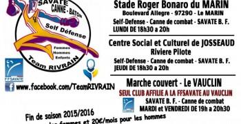 Savate Boxe Française et Canne de combat
