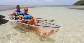 Fleurdo Ecoexcursions en pirogues transparentes et bateau solaire