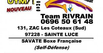 Boxe Française Team RIVRAIN à New Gym