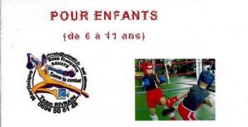 Boxe Française pour les enfants