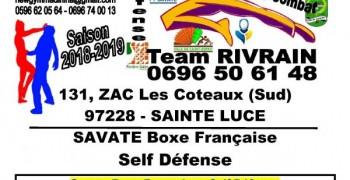 Team RIVRAIN - Savate Boxe Française