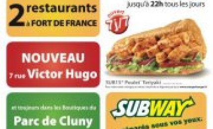 Subway Martinique