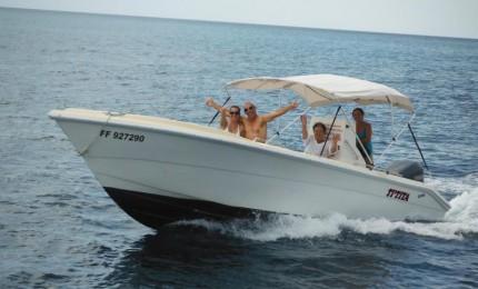 Ti-Tita , balades en mer côte Caraïbe et Sainte lucie