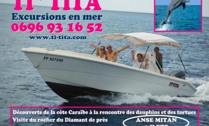 Ti-tita, excursions en mer