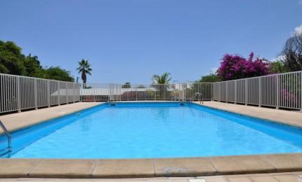 Studio avec piscine dans résidence très calme