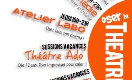 Ateliers théâtre d'Improvisation avec la Compagnie TRACK
