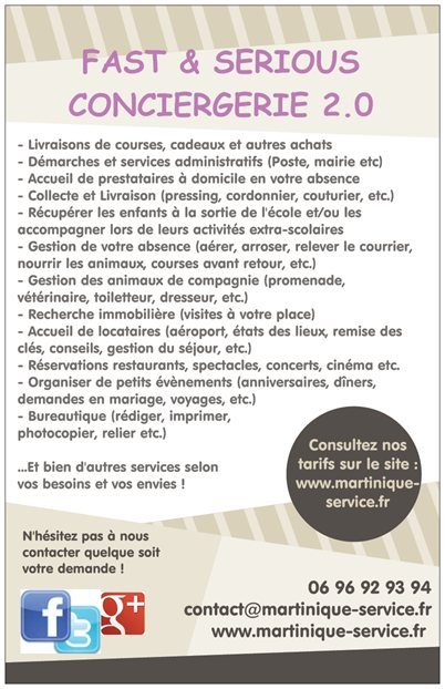 flyers conciergerie